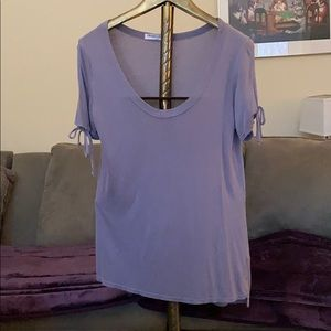 Project Social purple/grey T-shirt used